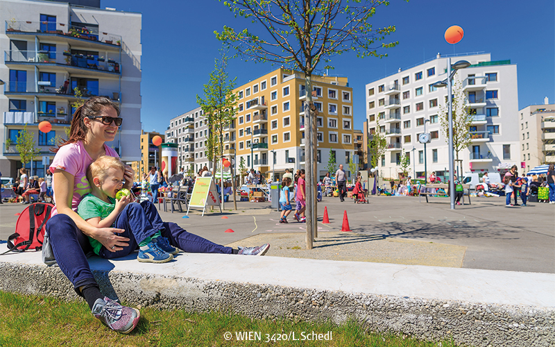 Seestadt Aspern © Schedl